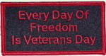 Military Patches-VetsDay