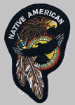 Native Patches - Hawk_Native American